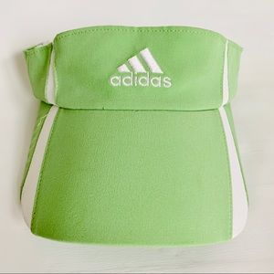 Adidas ClimaCool Golf Tennis Green/White Visor Hat
